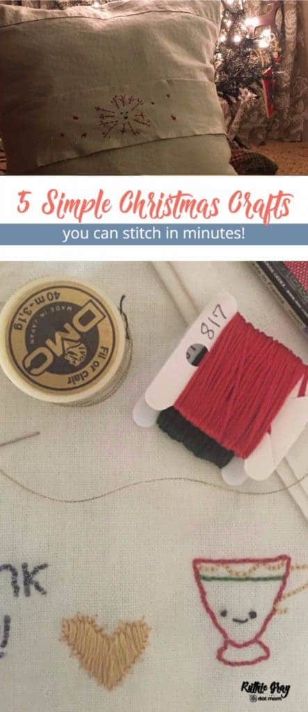 5 simple Christmas crafts with year-round versatility. Easy, cheap, DIY homemade gifts you'll love so much you'll be tempted to keep them! #christmascrafts
