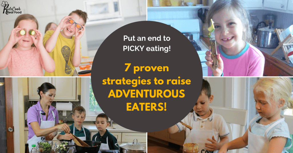 The one battle you won't win with your kid; 8 tips for picky eaters. As a mom of 4 I feel your pain and these 8 tips worked for me. Feed your kids meals they like and save your sanity with the Frazzled Mom's Picky Eater Checklist! #pickyeaters #meals #dinnertime #kidseatrealfood