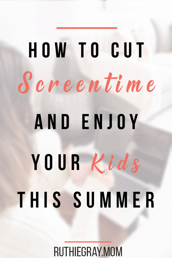 How to disconnect and enjoy your kids this summer; Practicing the art of family connections, communication, and solid parenting involvement. #familyconnections #family #screentime #screentimeboundaries #familyfirst #disconnect #motherhood #momlife