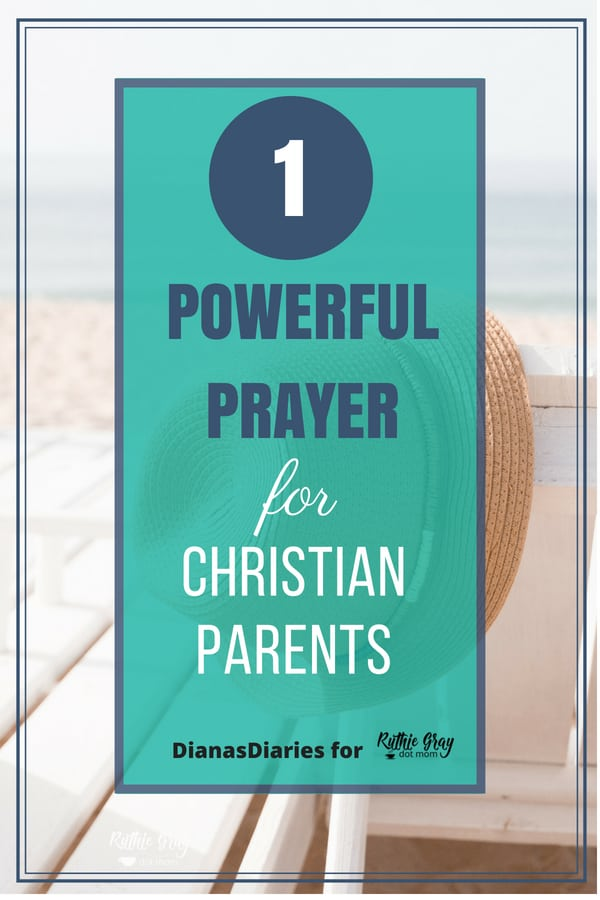 A powerful prayer for Christian parents to rear godly children. How can we pray when we are full of our own faults? Don't be discouraged - pray this prayer!