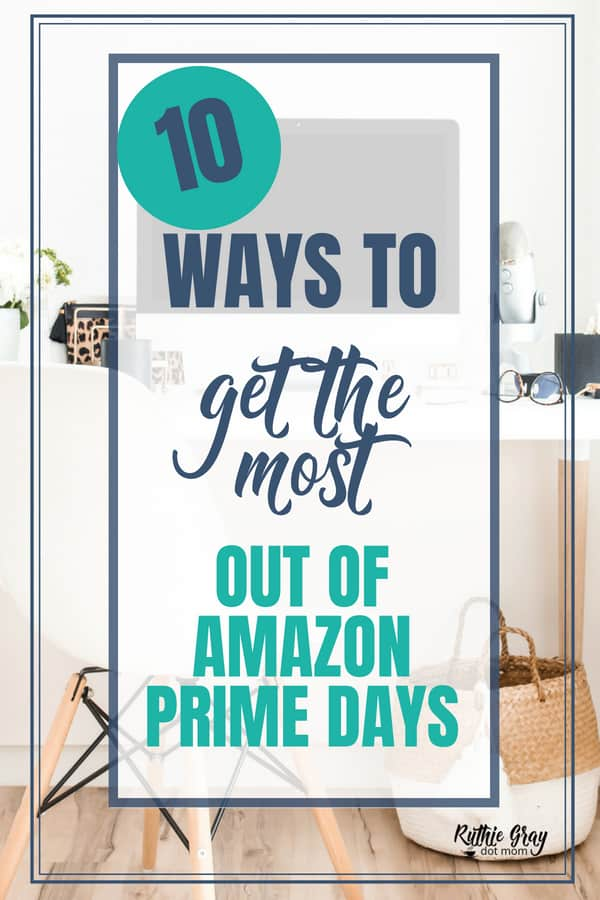 How to get the most out of Amazon Prime Day & my top 10 picks. If you're not an Amazon Prime Member, sign up shopping bargains and savings 8/16-8/17. #amazonprimeday #amazon #amazonprime #shopping #amazonprimemember #onlineshopping #onlinebargains #bargains #onlinesavings #savings #monday #tuesday #gift #gifts #giftideas #officedecor