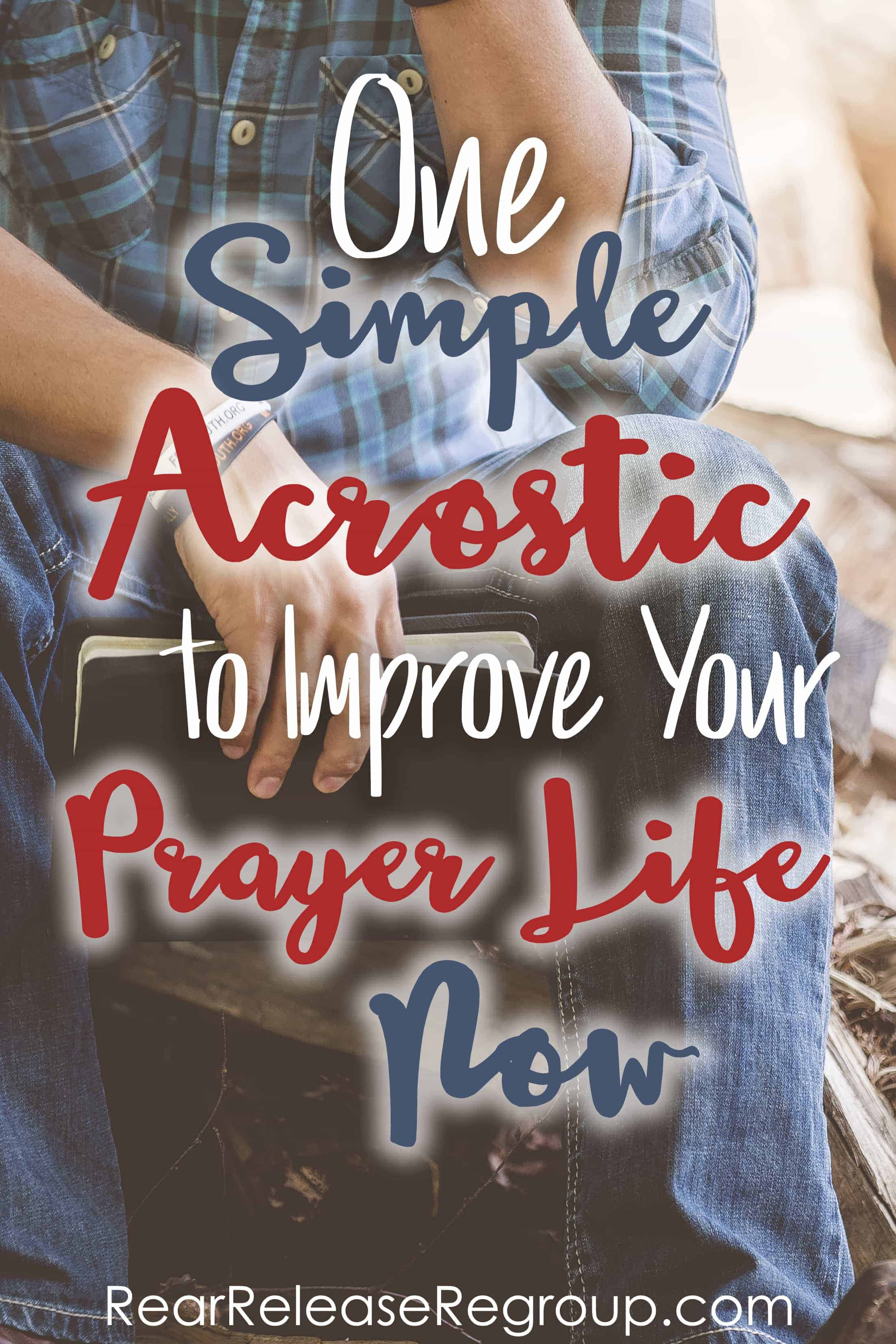 One simple tip to improve your prayer life now. Do you find the wheels spinning when you sit down to pray for five or 10 minutes? Here's help.