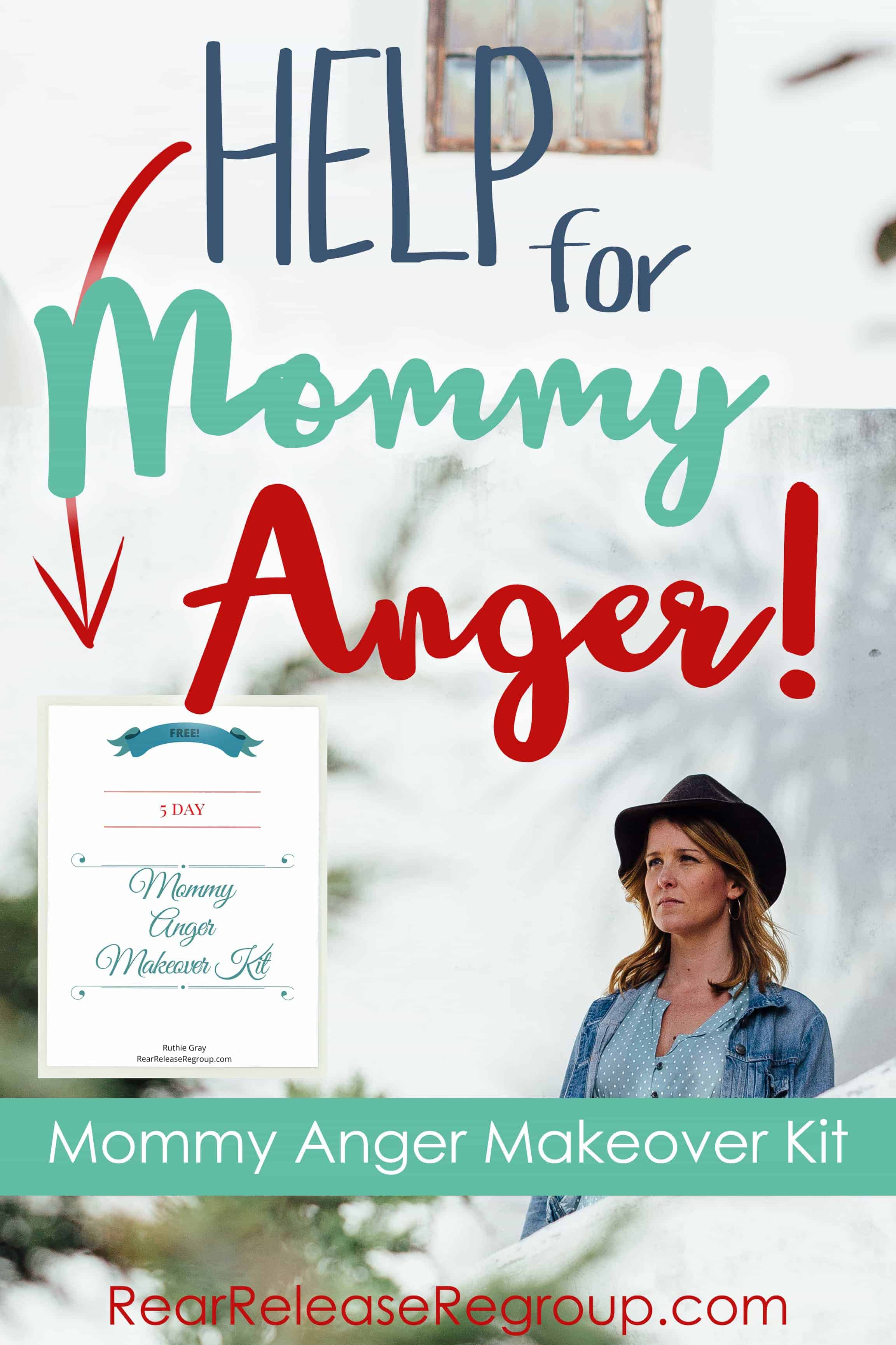 Do you need a mommy anger makeover? Are you tired and weary of your temper, but also of your people? Come away with me for a FREE 5 Day Mommy Anger Makeover!
