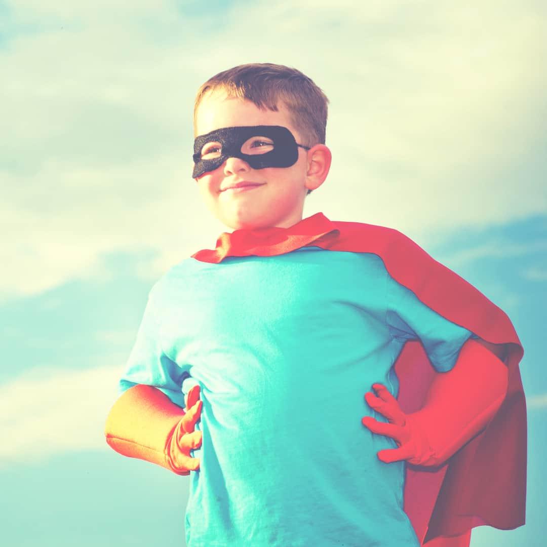 Your stubborn child; 3 ways he's a next generation superhero