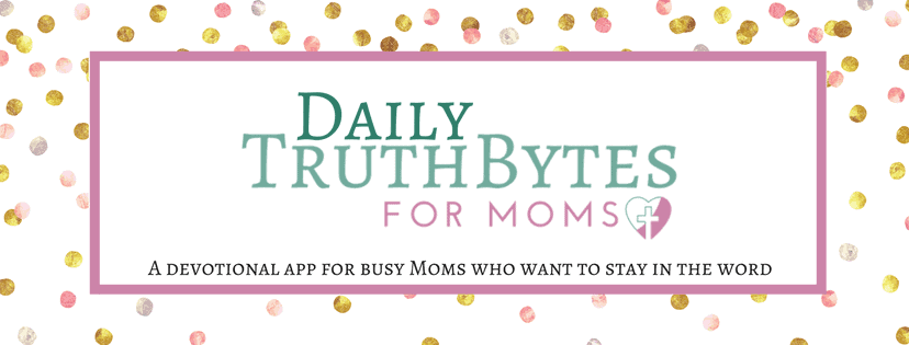 How to spend time in the Word; advice I rejected as a younger mom, plus an exciting new app for busy moms to fit in Scripture reading! #devotions