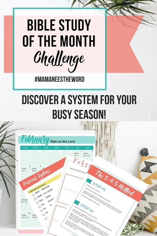 12 Bible study systems for busy moms
