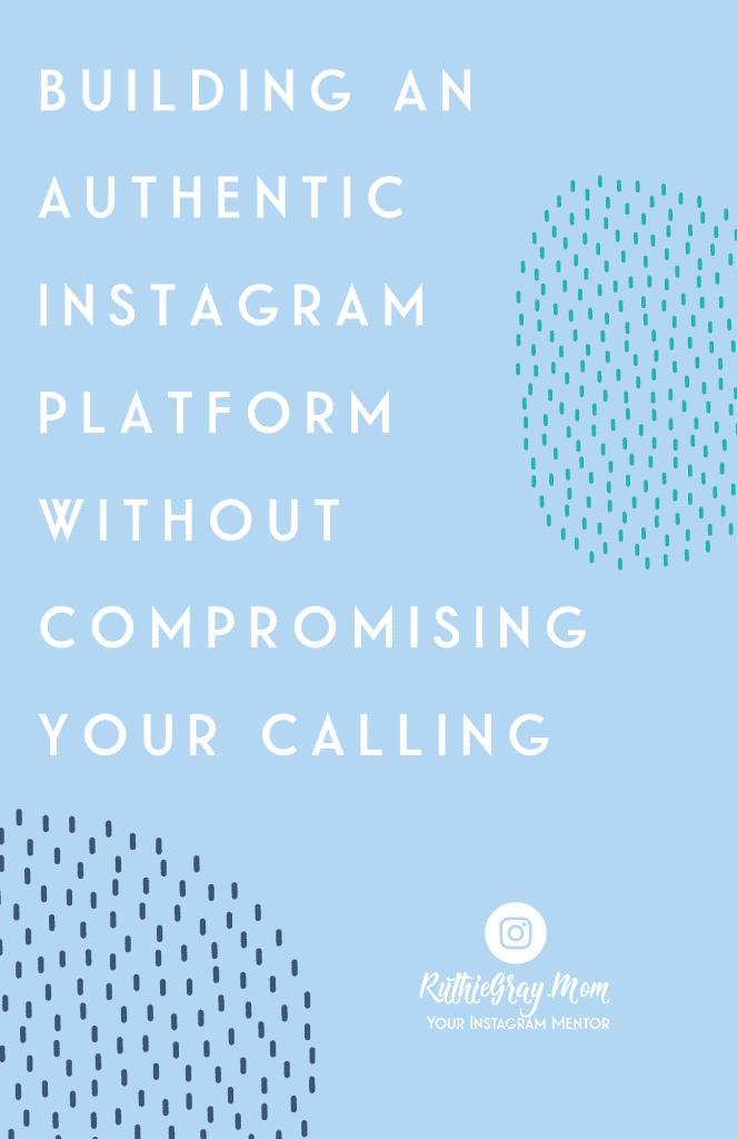 authentic instagram platform