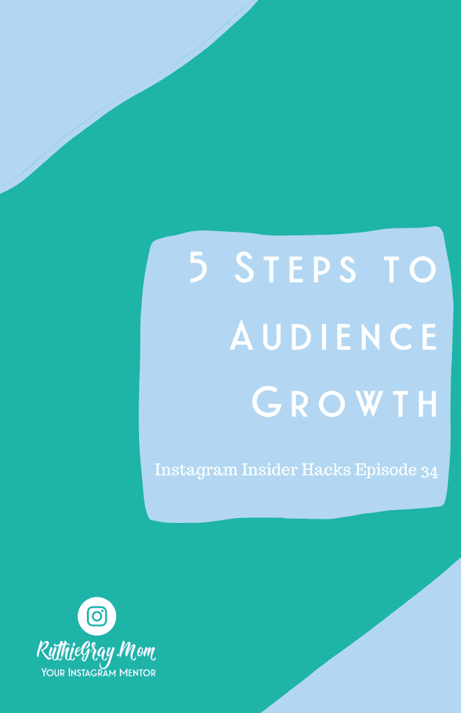 5 steps to audience growth pin