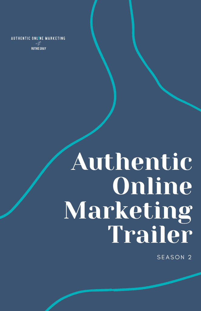 authentic online marketing pin image