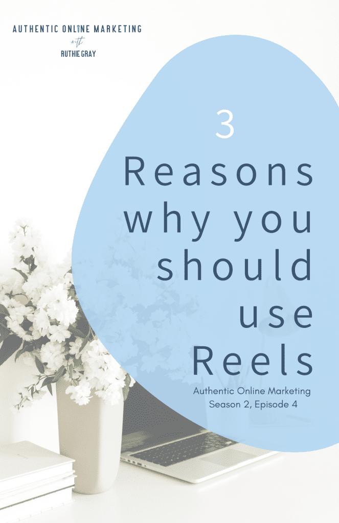 3 reasons why you should use Reels pin image