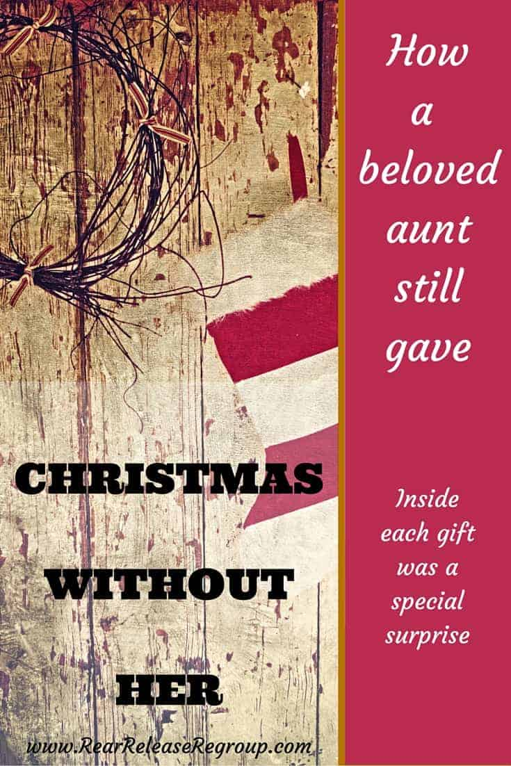 Christmas without her: how a beloved aunt still gave