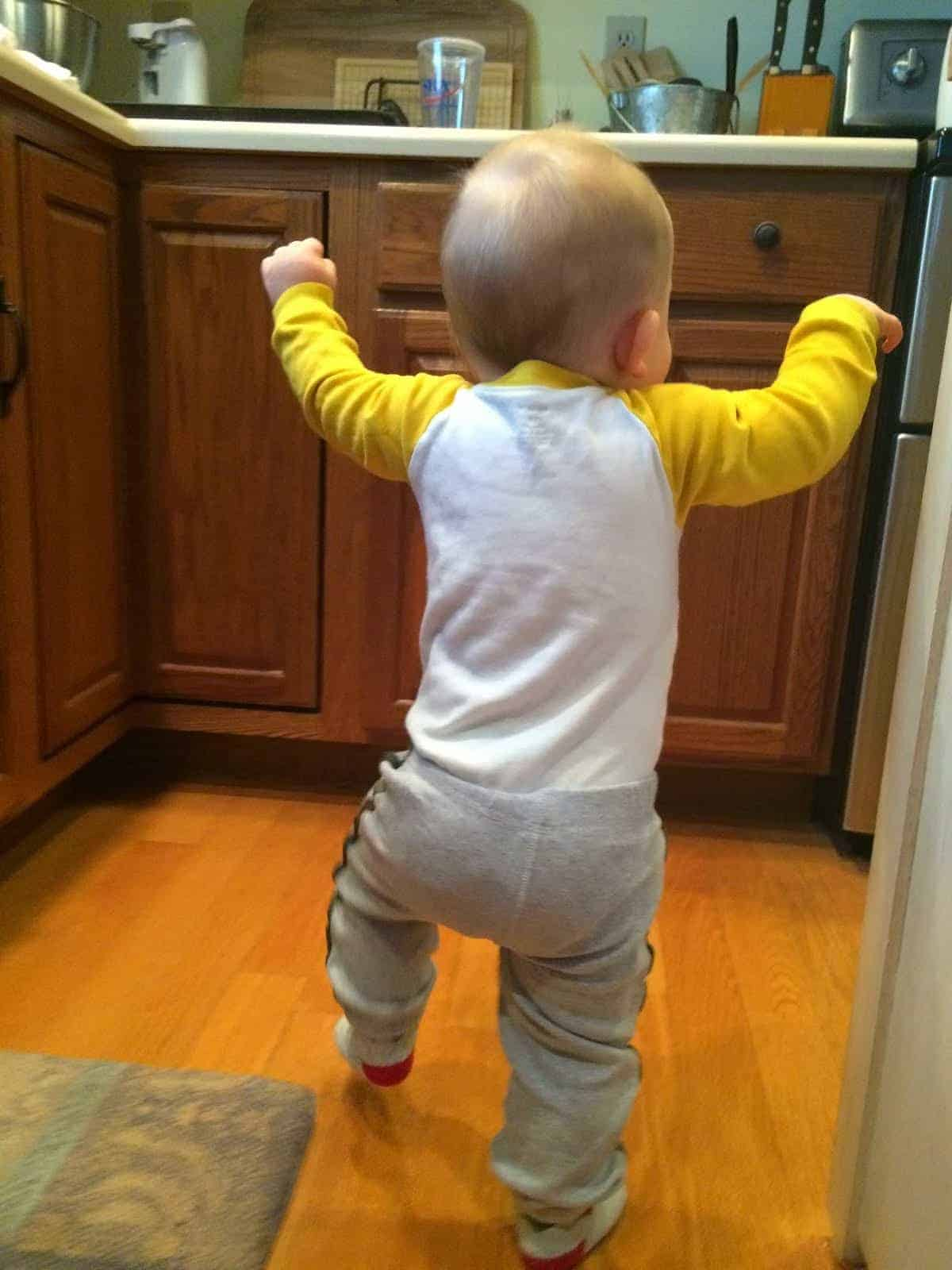 SAWYER UPDATE – giggles and pics