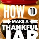 "How to make a ""Thankful Jar"""