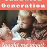 What the sandwich generation taught me about joy